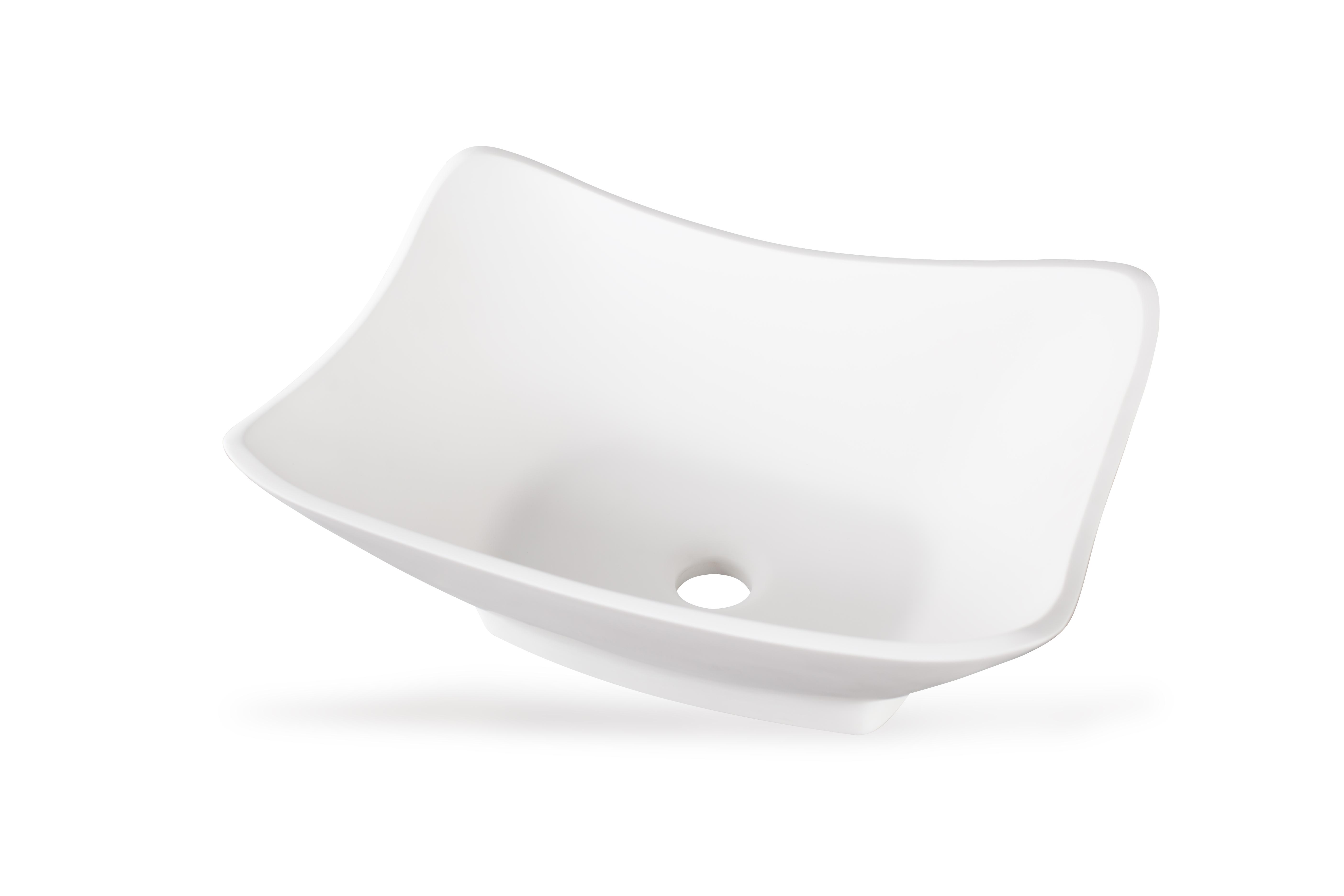 Дизайнерская накладная раковина Lugano Tre