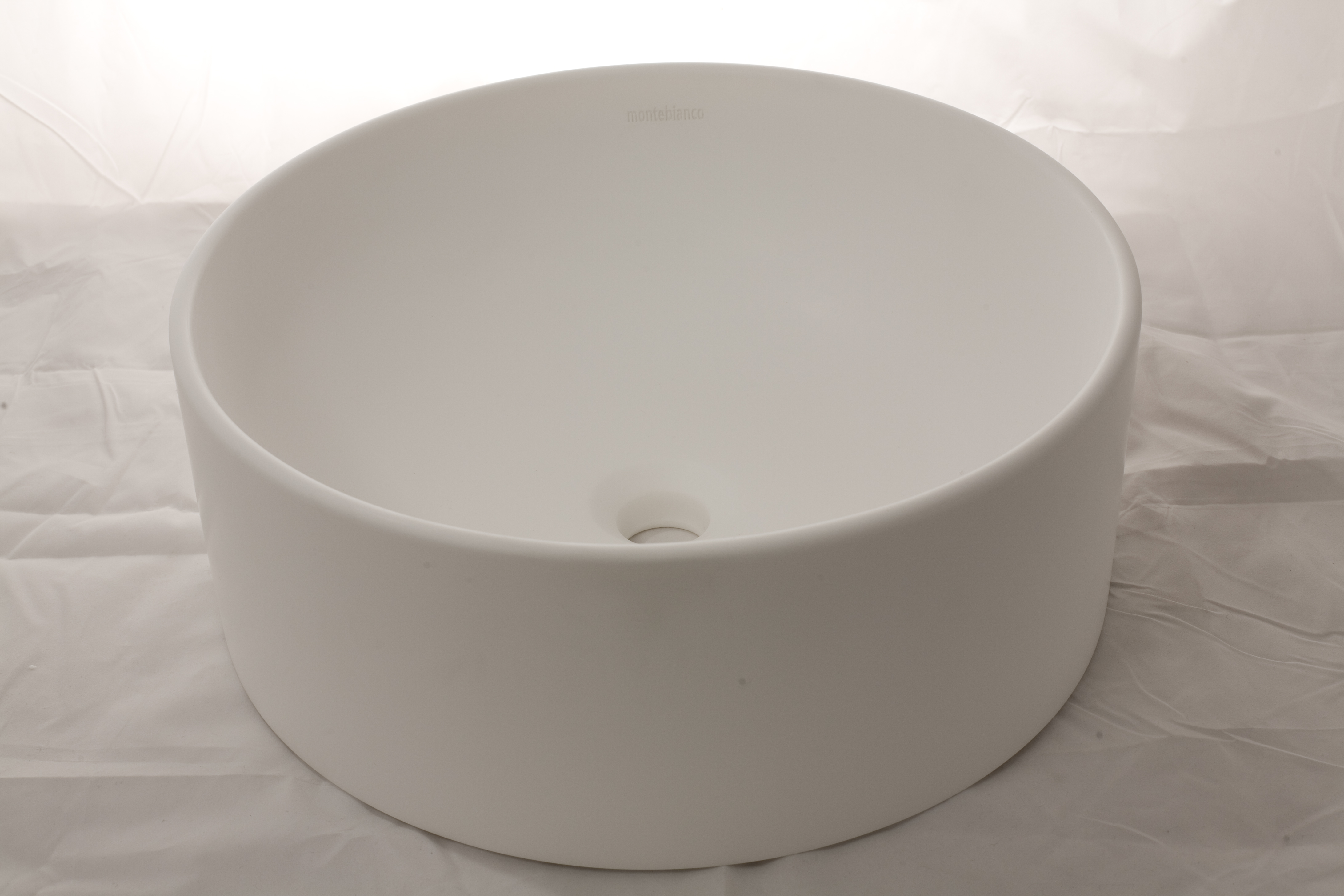 Накладная, круглая раковина Pisa Terzo