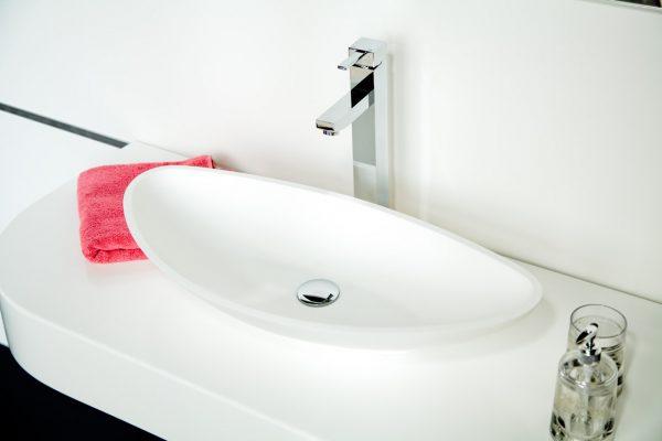 Дизайнерская раковина итальянского бренда Монте Бианко Gondola