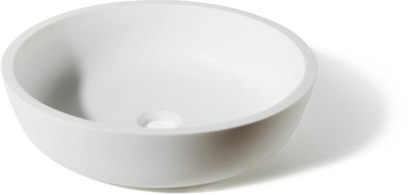 Фото круглой накладной раковины на столешницу для ванной Isola Bella -1