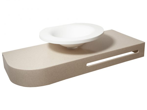 Фото встраиваемой раковины в ванную комнату Popolo-07