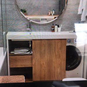 Столешница под стиральную машинку для ванной комнаты