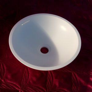 Маленькая круглая раковина Nemi Quattro